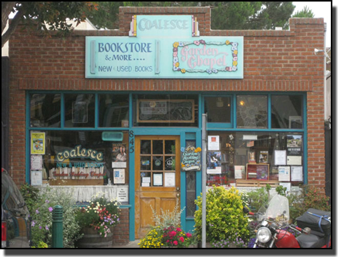 The Coalesce Bookstore and Chapel on Main Street in Morro Bay, Calif.